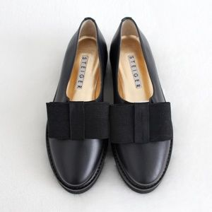 Walter Steiger Smoking Bow Loafers